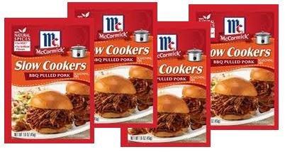 (McCormick BBQ Pulled Pork Seasoning Mix (1.6 oz Packets) 4 Pack)