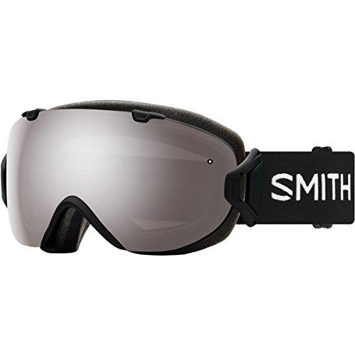 1 Light Platinum - Smith Optics I/Os Adult Snow Goggles - Black/Chromapop Sun Platinum Mirror/One Size