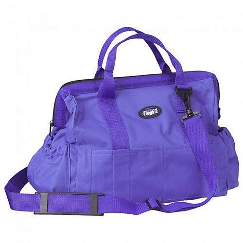 (Tough 1 600 Denier Poly Grooming Tote Purple )