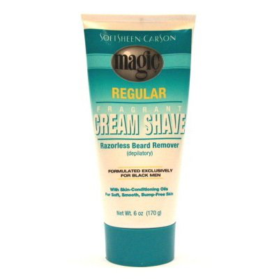 Magic Fragrant Shave Cream 6 oz. Tube Depilatory (Pack of 2) by Magic