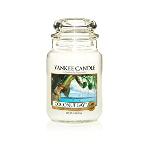 Yankee Candle Coconut Bay Large Jar Candle, Fresh Scent