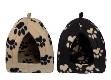 Max and Tilly Iglú para gato o perro pequeño, diseño con trabillas: Amazon.es: Productos para mascotas