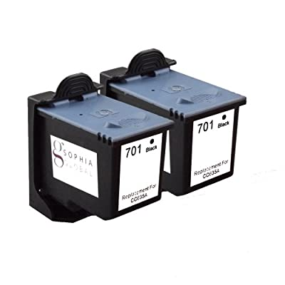 Sophia Global Remanufactured Ink Cartridge Replacements for HP 701