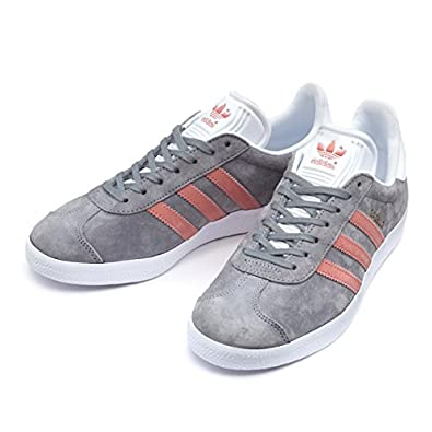 finest selection a8071 d978c ... clearance adidas womens gazelle shoes hk grey three raw pink white  4257c 0e514