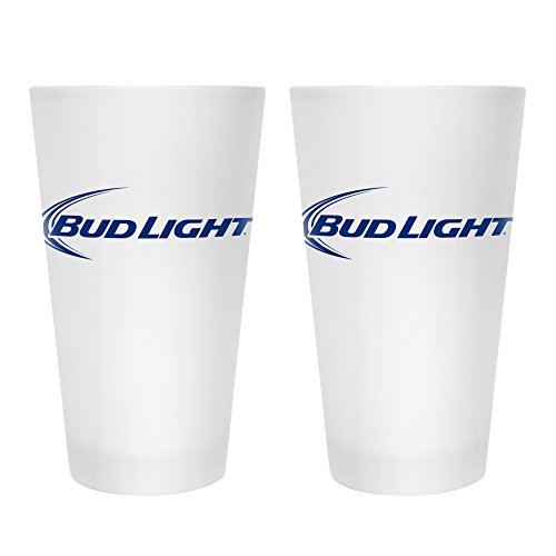 Boelter Brands Bud Light Frosted Pint, 16-ounce, ()