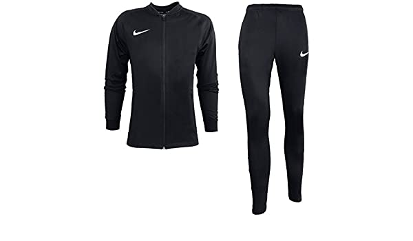 Nike M Nk Dry Sqd TRK Suit K Chándal, Hombre, Negro (Negro/Blanco ...