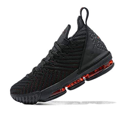 c960ca0555 TOP DOG Men's Lebron 16 Basketball Shoes (45 11 M US, Black red)