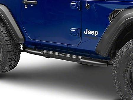 for Jeep Wrangler JL 2 Door 2018-2020 Textured Black RED ROCK Redrock 4x4 PNC Side Step Bars