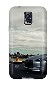 New Premium Flip Case Cover Nissan Skin Case For Galaxy S5