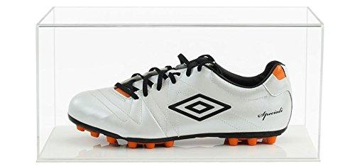 Widdowsons Display Cases Football Boot Display Case with a Wooden Base, Acrylic, 38.2 x 20.7 x 18.1 cm Widdowsons Ltd TDD015