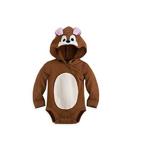 Little Brown Mouse Costume (Disney Store Chip Baby Girls Boys Costume Dress Up Outfit 0-3M)