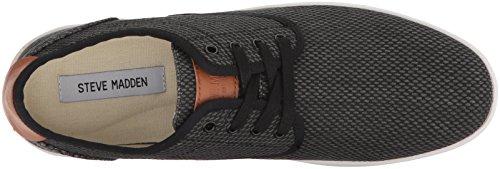 Steve Madden Heren Ferrin Sneaker Zwarte Stof
