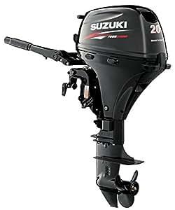 "Suzuki 20HP 4-Strk EFI Outboard Motor Tiller 20"" Shaft Electric Start Power Tilt"