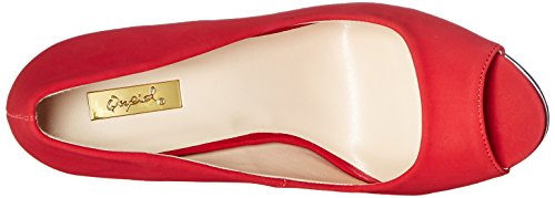 Red Platform Qupid Pump Count Women's 81 Dark w47nxY8pq