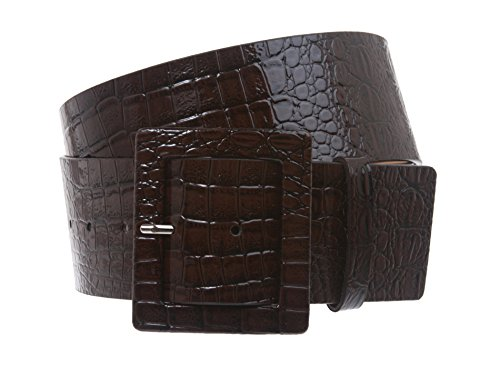 Wide Covered Buckle Belt (2 1/4