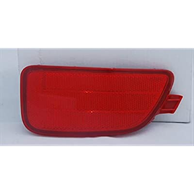Multiple Manufacturers OE Replacement Bumper Cover Reflector KIA Soul 2012-2013 (Partslink KI2831100): Automotive