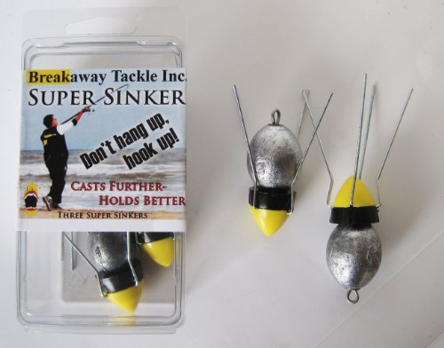 Breakaway Three 5oz Super Sinker Pack