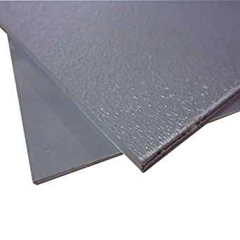 24 X48 X 1 8 Grey Abs Plastic Sheet Custom Stereo Textured Front Smooth Back Amazon Com Industrial Scientific
