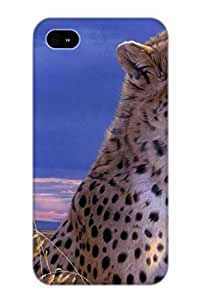 Ellent Design Animal Cheetah Case Cover For Iphone 6 4.7 For New Year's Day's Gift