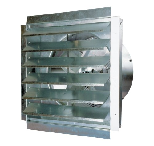 Powerful Industrial Exhaust Fan, Made in The USA (18 Inch)