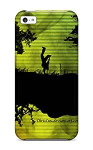 Iphone 5c Hard Back With Bumper Silicone Gel Tpu Case Cover Jayson In Town