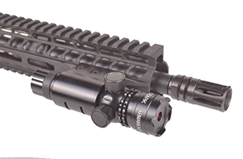 Ozark Armament Red Rifle Laser - Tool-Less Adjustments - Barrel and Rail Mount Included (Green Tactical Laser Sight By Ozark Armament)