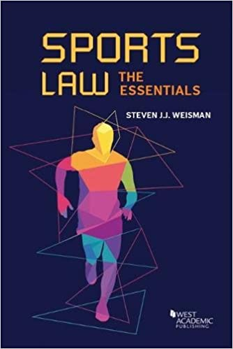 Sports Law: The Essentials (Higher Education Coursebook)