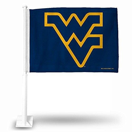 Rico Industries NCAA West Virginia Mountaineers Car Flag