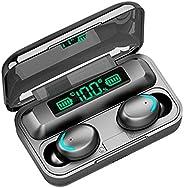 Merkeral Audífonos Bluetooth 5.0 Inalámbricos Deportivos Auriculares Control Táctil Inteligente TWS Auricular