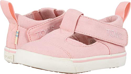 TOMS Kids Baby Girl's Joon (Infant/Toddler) Pink Canvas 5 M US -