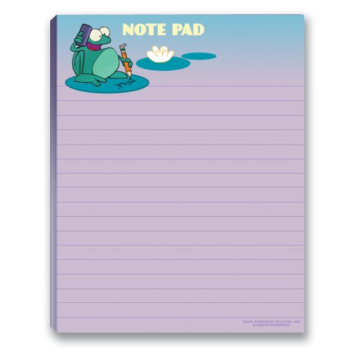 Cute Frog Note Pad - 2 Cute Note (Frog Notepad)