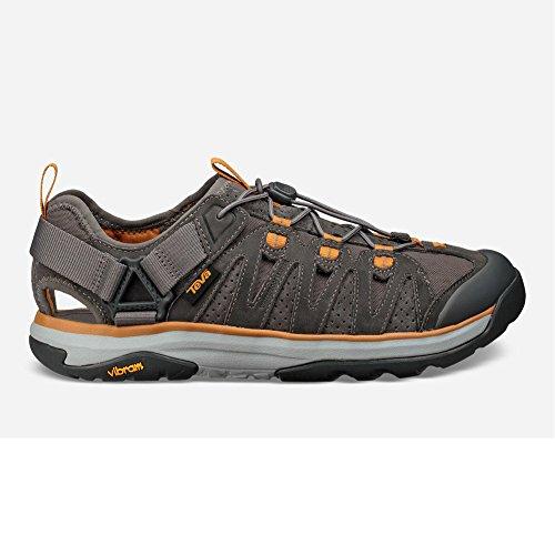 Teva Men's Terra-Float Active Lace Sport Sandal,Charcoal Grey,US 11.5 ()