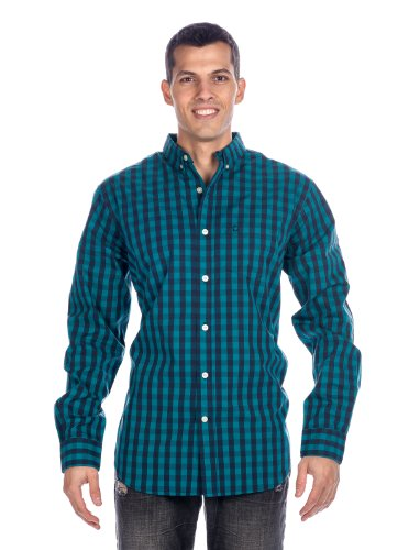 Noble Mount Mens 100% Cotton Casual Shirt - Regular Fit