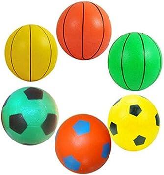 Amazon.es: Frontier 8 de 12 cm juguetes inflables pat pelota de ...