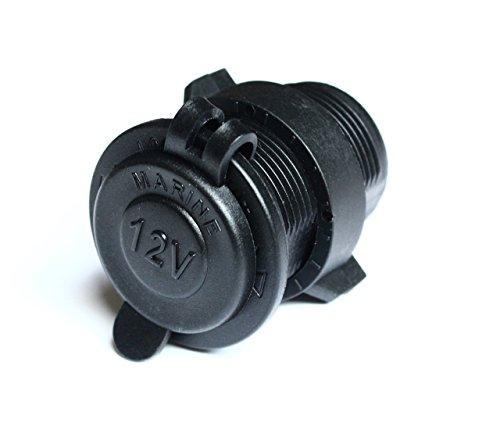Bandc Waterproof Marine Motorcycle ATV Rv Lighter Socket Power Outlet Socket 12v Plug.
