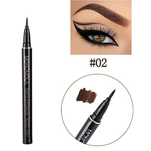 Shouhengda Eyebrow Pen Tattoo Pen Pencil Liner Long Lasting Waterproof Eyebrow Colors Makeup (Light Brown)