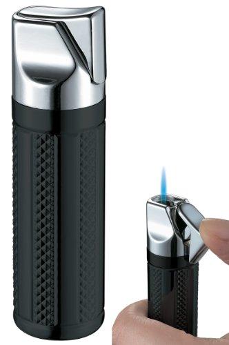 Visol Tornado Black Matte Single Jet Flame Cigar Lighter