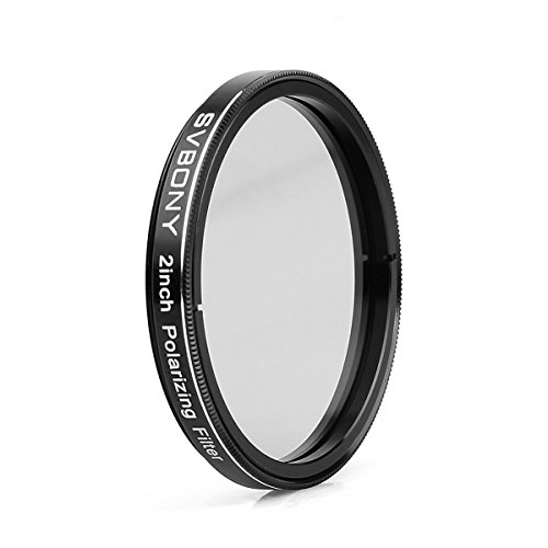 SVBONY Telescope Filter for Telescope Eyepiece Lunar Planetary Observing 2 Inch Moon Filter