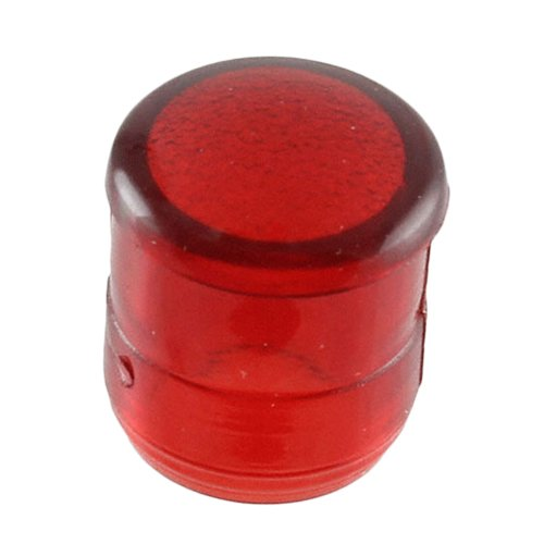 VCC CMC 313 Series Round Lens for 5mm, T-1 3/4 LED, 0.281-Inch/7.14mm Diameter, Red