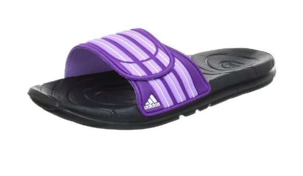 half off 94600 1516a adidas Performance Taedia Vario W, Chanclas para Mujer, Mehrfarbig (Black 1    Power Super Purple S12), 44 2 3 EU  Amazon.es  Zapatos y complementos