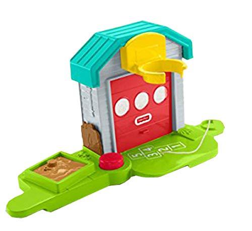 (Fisher-Price Little People Big Helpers Garage - Replacement Garage, Base, Hoop and Sandbox Lid FHD93)