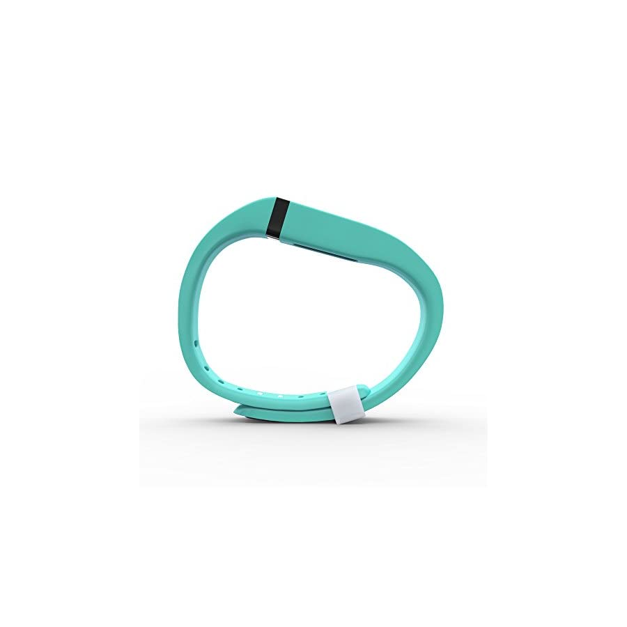 Teak Fitbit Flex Band, Replacement Bands for The Fitbit Flex, with Extra Security Clasp. Large & Small