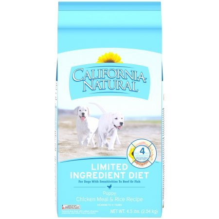 California Natural LID Chicken Meal & Rice Recipe Puppy Dry Dog Food, 5 lb