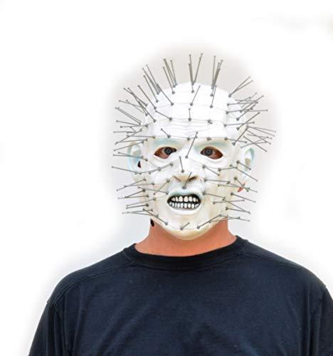 Acid Tactical Halloween Comic-con Cosplay Latex Costume Mask Scary Hellraiser Pinhead -
