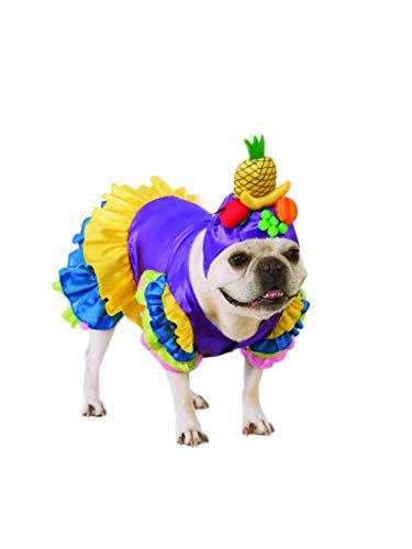 Sweet Pea Costumes For Dogs - Rubie's Brazilian Bombshell Pet Costume,