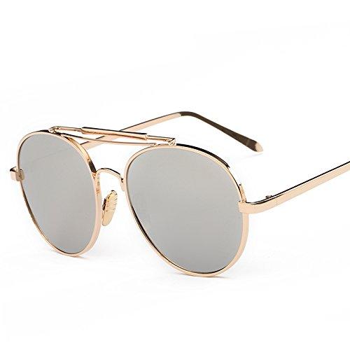 Tendencias Hipster Simple Fashion Style Classic Goldboxwhitemercury 3152 Nuevas Fashion Sunglasses Sunglasses SilverBoxWhiteFilm CDGFV 5qfF0w