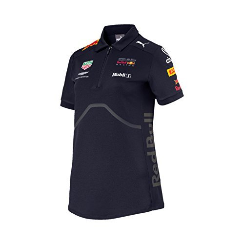 (Red Bull Racing Formula 1 Women's 2018 Puma Navy Team Polo (XL))