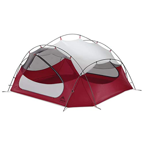 MSR Papa Hubba NX 4-Person Lightweight Backpacking Tent with Xtreme Waterproof Coating