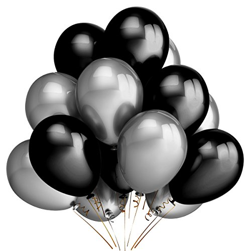 party-balloons-decoration100-pack-12-inches-silver-black-balloons-for-christmas-birthday-wedding-hol