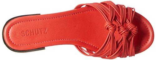 Schutz Damen S2-02380016 Pantoletten Orange (Nice Orange)